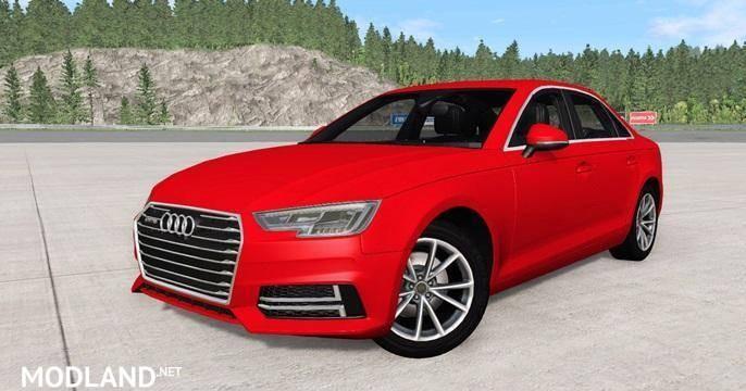 Audi A4 TFSI Quattro S Line (B9) 2016 [0.12.0]